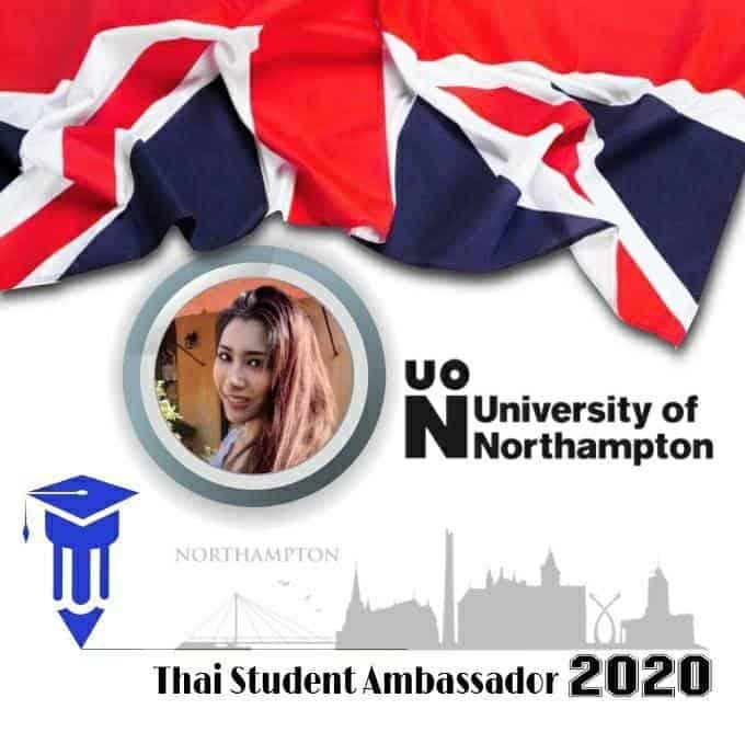 , ขอแสดงความยินดีกับ น้องเฟิร์น นส. ศิรดา ประเดิม นักเรียน Finn รุ่น 15 🏆 ได้รับคัดเลือกเป็น Ambassador แห่ง University of Northampton (UON)